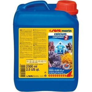 Препарат SERA MARINE CALCIUM COMPONENT 2 pH-Buffer насыщение воды кальцием для морских аквариумов 2,5л