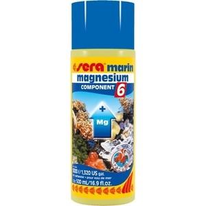 Препарат SERA MARINE MAGNESIUM COMPONENT 6 насыщение воды магнием для морских аквариумов 500мл скиммер sera marin precision protein skimmer ps 130 для морских аквариумов до 150л
