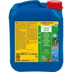 Препарат SERA POND CRYSTAL Remove Floating Algae для удаление плавающих ворослей в пруду 5л препарат sera pond bio balance kh ph stabilizer для стабилизации параметров воды в пруду 550г