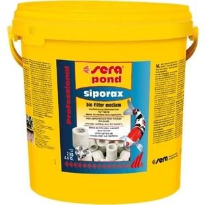 все цены на Наполнитель SERA POND SIPORAX Bio Filter Medium для биологической фильтрации воды в пруду 50л онлайн