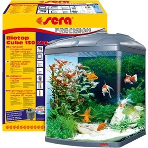 Аквариумный комплекс SERA PRECISION BIOTOP CUBE XXL 130 с внешним фильтром и освещением 130л аквариумный комплекс sera precision biotop cube xxl 130 с внешним фильтром и освещением 130л