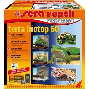 Купить Террариум SERA PRECISION TERRA BIOTOP 60 Glass Terrarium стеклянный с термометром/гигрометром 60л