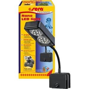 Светильник SERA PRECISION NANO LED LIGHT LED Lighting for Nano and Small Aquariums светодиодный для маленьких аквариумов 4Вт лампа для террариума sera daylight compact 2% 25 вт