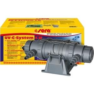 УФ-очиститель SERA PRECISION UV-C System 5w UV-C Water Clarifier для воды в аквариуме 5Вт