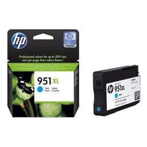 Картридж HP 951XL голубой (CN046AE)