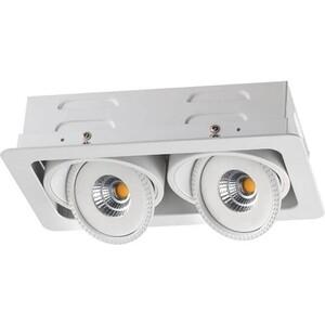 Встраиваемый светодиодный светильник Novotech 357581 встраиваемый светодиодный светильник novotech gesso 357581