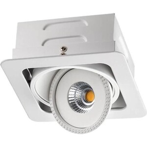 цена Встраиваемый светодиодный светильник Novotech 357580 онлайн в 2017 году