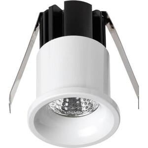 Встраиваемый светодиодный светильник Novotech 357698 встраиваемый светодиодный светильник novotech gesso 357581