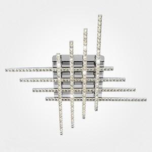 Потолочный светодиодный светильник Eurosvet 90041/8 хром