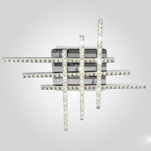 Потолочный светодиодный светильник Eurosvet 90041/6 хром потолочный светодиодный светильник eurosvet 90041 6 золото