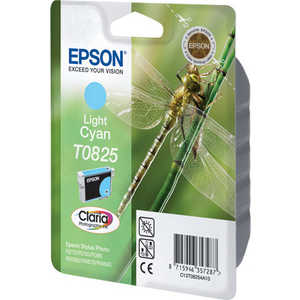 Картридж Epson Light Cyan Stylus Photo R270/R290/RX590 (C13T11254A10) картридж superfine r270 черный