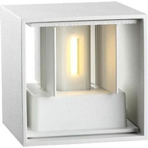 Уличный настенный светильник Novotech 357518 novotech 357518 nt18 000 белый светильник ландшафтный светодиодный ip54 cob 2 3w 220 240v calle