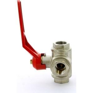 Кран ITAP шаровый 3-ходовой 3/4 ВР тип L (128 3/4'L) кран itap шаровый berlin газовый 3 4 вр 072 3 4