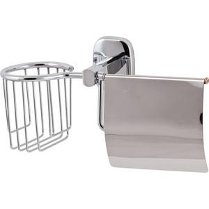 цена на Держатель туалетной бумаги и освежителя Swensa с крышкой, хром (1504-1)
