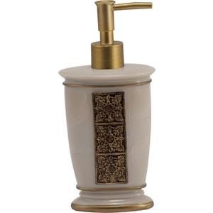 Дозатор для жидкого мыла Swensa Синтра, полирезина, слоновая кость (SWT-4040A)