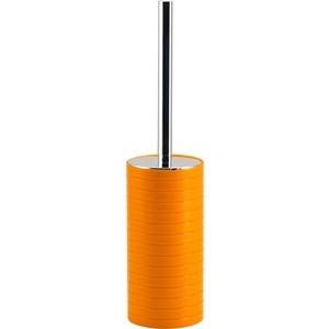 Ершик для унитаза Swensa Тренто оранжевый, пластик (SWP-0680OR-E)
