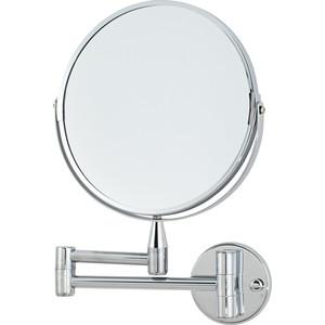 Зеркало косметическое Swensa 20 см, настенное, хром (L08-8) зеркало косметическое swensa 20 см настольное хром l01 8