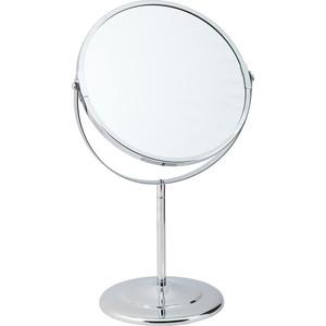 Зеркало косметическое Swensa 20 см, настольное, хром (L01-8)