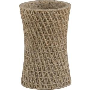 Стакан для ванны Swensa Тиволи, полирезина, светло-коричневый (SWT-1450C)
