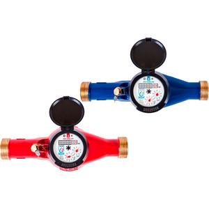цена на Счетчик горячей воды ЭКО НОМ СВДЛ-32Г общедомовой с комплектом монтажных частей Латунь (СВ32-003)