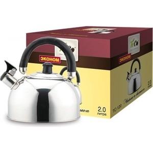 Чайник со свистком 2.0 л Teco (TC-120) цена 2017