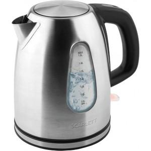 Чайник электрический Scarlett SC-EK21S47 чайник электрический scarlett sc ek18p53 1л 1600вт белый серый корпус пластик