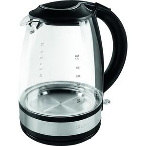 Чайник электрический Scarlett SC-EK27G31 чайник электрический scarlett sc ek18p53 1л 1600вт белый серый корпус пластик