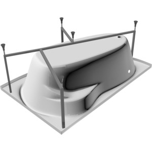 Каркас для ванны Relisan Ariadna 160х105 (Гл000003445) каркас для ванны relisan ariadna 170х110 гл000003439