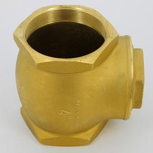 Клапан ITAP обратный CLAPET 4 ВР дисковый горизонтальный с металлическим затвором и ревизией