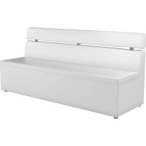 Кухонный диван АртМебель Классик эко-кожа белый диван артмебель бремен эко кожа белый