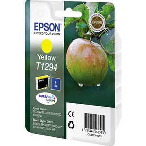 Картридж Epson Yellow Stylus (C13T12944011) цены онлайн