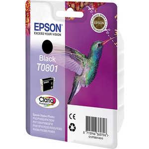 Картридж Epson T0801 Black (C13T08014011) epson c13t08014011