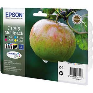 цена на Картридж Epson MultiPack (BCMY) (C13T12954010/C13T12954012)