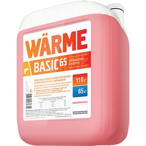 Теплоноситель Warme для систем отопления АВТ-65 10 кг