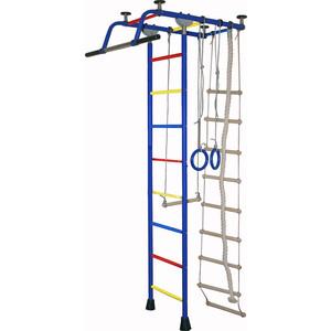 Детский спортивный комплекс Крепыш плюс (02453) Т ПВХ синий детский спортивный комплекс крепыш плюс 02453 т пвх синий