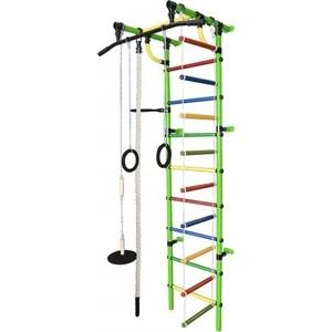 Детский спортивный комплекс Формула здоровья Гамма-1К Плюс салатовый- радуга цена