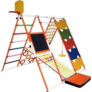 Детский спортивный комплекс Формула здоровья Вершинка W Плюс оранжевый- радуга