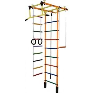 Детский спортивный комплекс Формула здоровья Атлант-1С Плюс оранжевый- радуга мебель черноземья каталог
