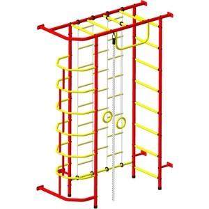 Детский спортивный комплекс Пионер 9Л красно- жёлтыйтехнические характеристики фото габариты размеры  - купить со скидкой