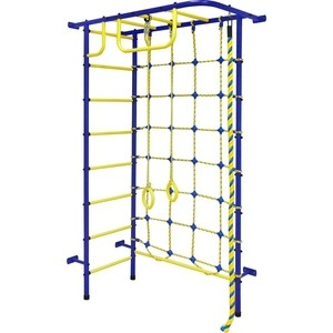 Детский спортивный комплекс Пионер 8М сине- жёлтый цена