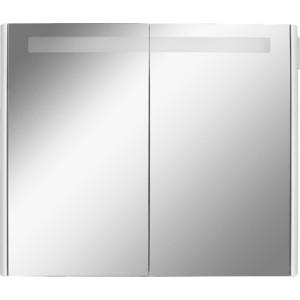 Зеркальный шкаф Am.Pm Bliss D 80 с подсветкой, белый глянец (M55MCX0801WG)