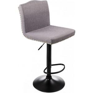 Барный стул Woodville Crown grey fabric стул woodville shem white light grey