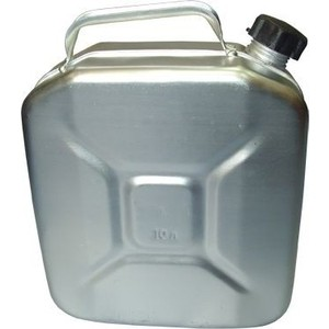 Канистра для топлива Демидовский завод 10л, МТ-030 (КПБ-АЛ10) канистра алюмин 10 л 1 3 мт 030