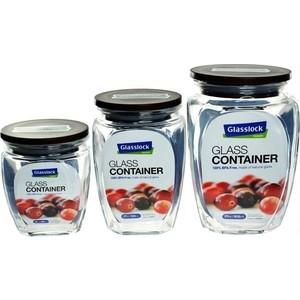 Набор контейнеров для сыпучих продуктов 3 штуки Glasslock (HG-638)