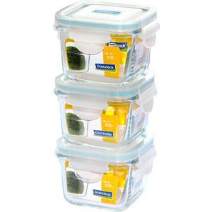Набор контейнеров 3 штуки Glasslock (GL-544)