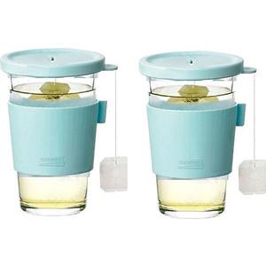 Набор стаканов 2 штуки 0.5 л Glasslock (GL-1364)