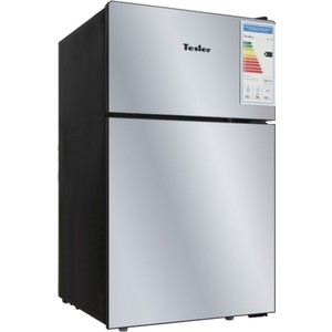 Холодильник Tesler RCT-100 Mirror холодильник tesler rcd 480i inox