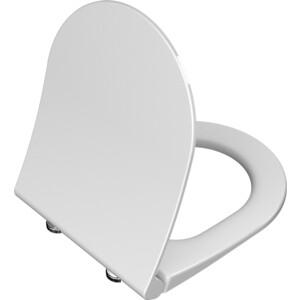 Сиденье для унитаза Vitra S50 с микролифтом, ультратонкое (110-003-019)