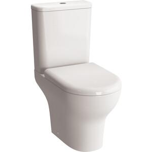 купить Унитаз-компакт Vitra Zentrum Rim-Ex безободковый, с сиденьем микролифт (9824B003-7207) дешево