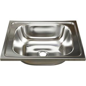 Кухонная мойка Mixline Накладная 50х40 0,4 мм (4630030631156) цена